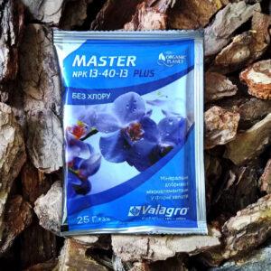 Master, добриво для орхідей і кімнатних рослин NPK 13-40-13